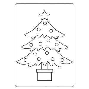 ぬりえ_クリスマス007